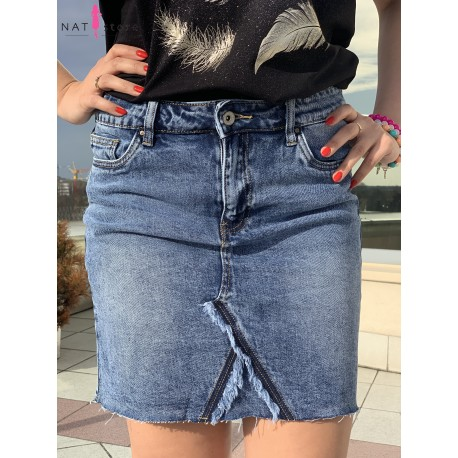 Spódnica jeansowa toxik