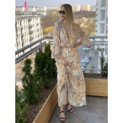 Długa sukienka Peri